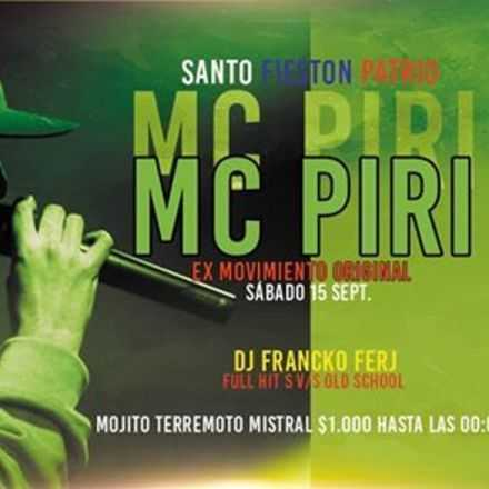 MC PIRI 15 SEPT SANTO AVERNO
