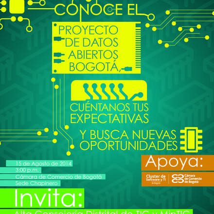 Conoce el Proyecto de Datos Abiertos Bogotá