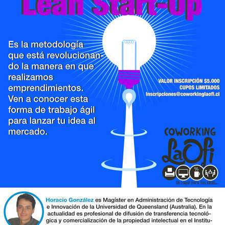 Charla Inductora Lean Start-Up