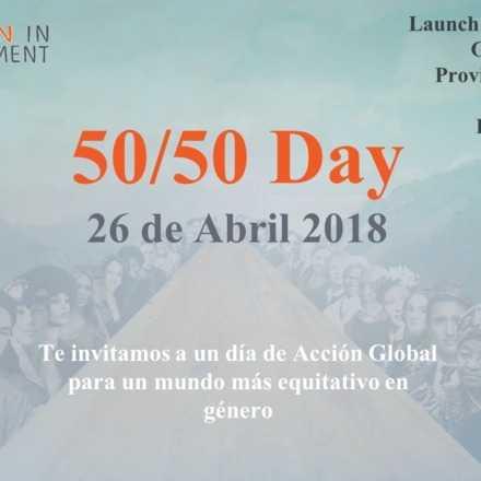 Getting to 50/50: Día de Acción Global para un mundo más equitativo en género