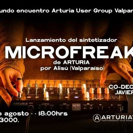Lanzamiento nuevo sintetizador Microfreak Arturia
