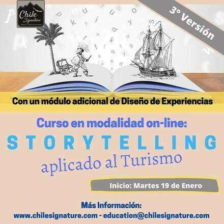 3° Versión Curso: Storytelling aplicado al Turismo