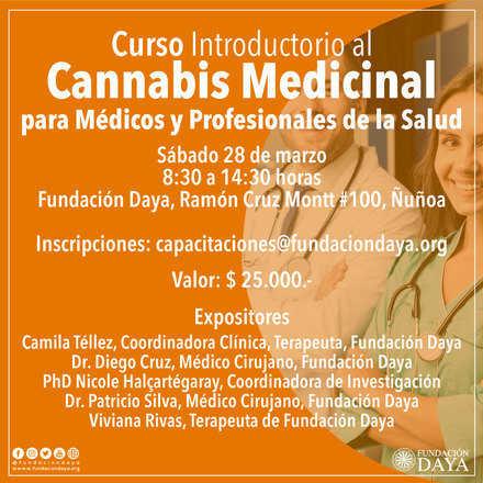 Curso Introductorio al Cannabis Medicinal para Médicos y Profesionales de la Salud, marzo 2020