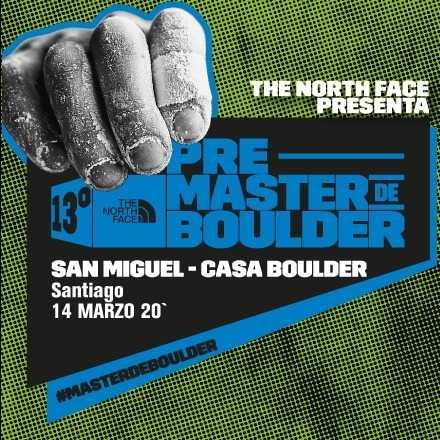 Pre Masters de Boulder Santiago