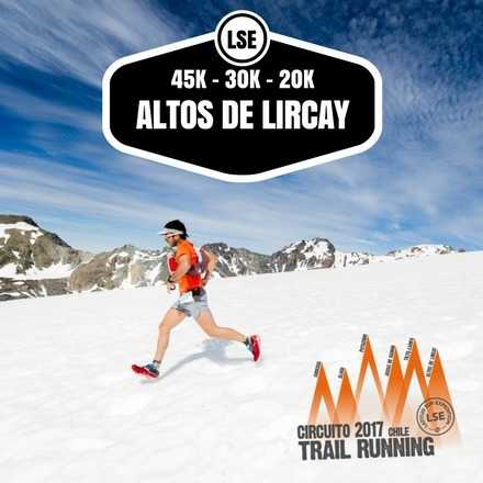 Trail Running Altos de Lircay 2017
