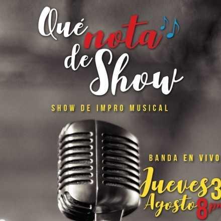 Show Lanzamiento Impro Musical