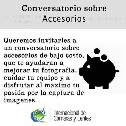 Conversatorio sobre accesorios