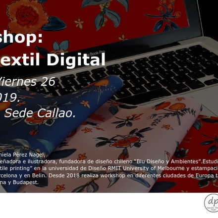 II Workshop Diseño Textil Digital