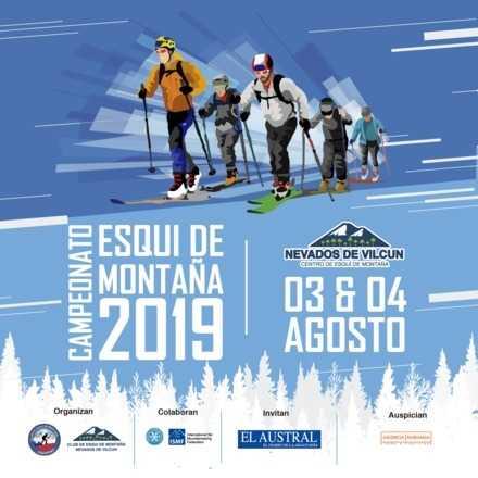 3ra Fecha Campeonato Nacional Esqui de Montaña Nevados de Vilcun