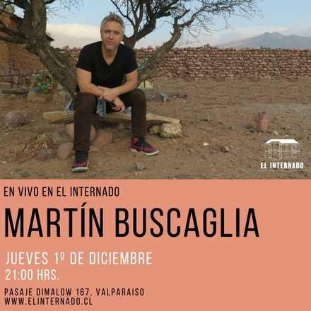 Martin Buscaglia en Vivo en Valparaíso