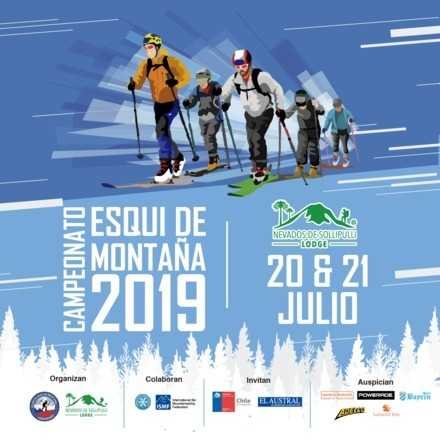 2da fecha Campeonato Nacional Esqui de Montaña Nevados Sollipulli