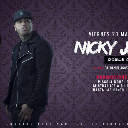 Nicky Jam / Viernes 23 Marzo