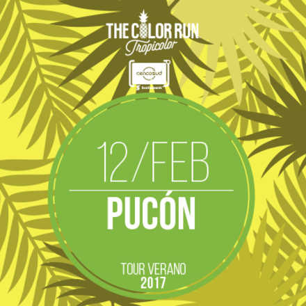The Color Run Pucón 2017