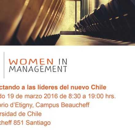 Conectando a las Líderes del Nuevo Chile