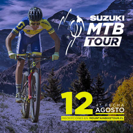 Mountain Bike Tour  4ª Fecha 2018, Agosto