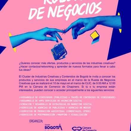Rueda de Negocios Cámara de Comercio de Bogotá