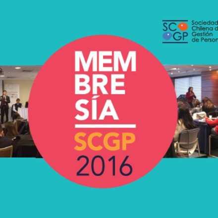 Membresía SCGP 2016