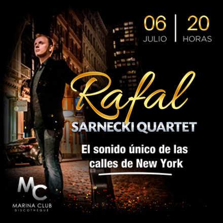 Noche de Jazz, Vinos & Blues. Rafal Sarnecki Quartet