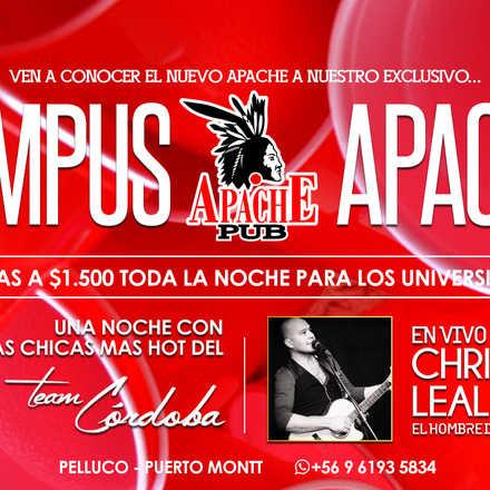 INVITACIÓN GRATIS VIERNES 06 NOV.CAMPUS APACHE