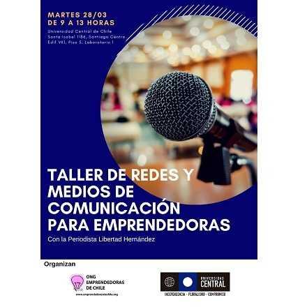 Taller de Redes y Medios de Comunicación para Emprendedoras de Santiago