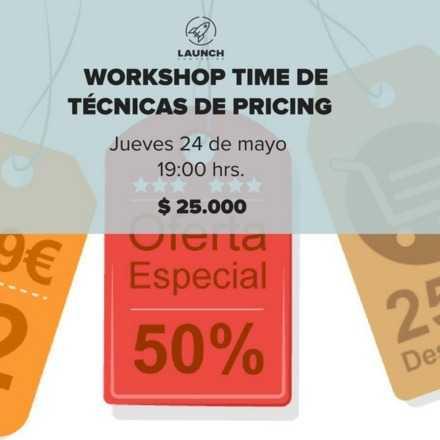 Workshop Time de Técnicas de Pricing
