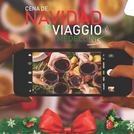 Cena de Navidad en Viaggio Medellin