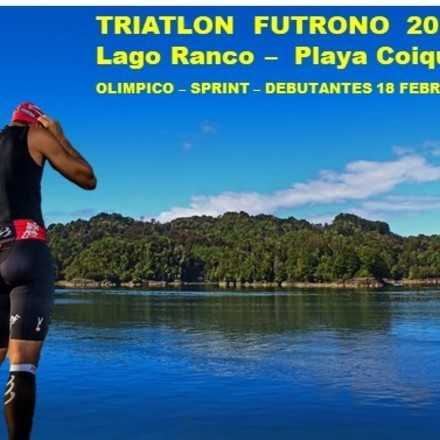 Triatlon Futrono, Playa Coique  2018