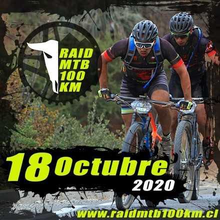 Raid MTB 100 km octubre 2020