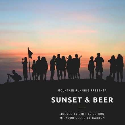 Sunset & Beer