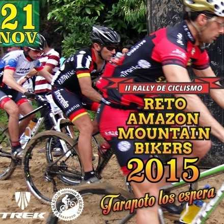 RETO AMAZON MOUNTAIN BIKERS 2015