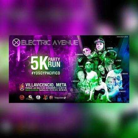 ELECTRIC AVENUE 5K PARTY RUN