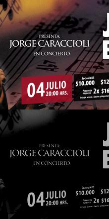 Noche de Jazz Vinos & Blues - JORGE CARACCIOLI