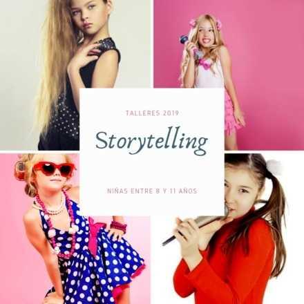 Taller de Storytelling para niñas (8-11 años)