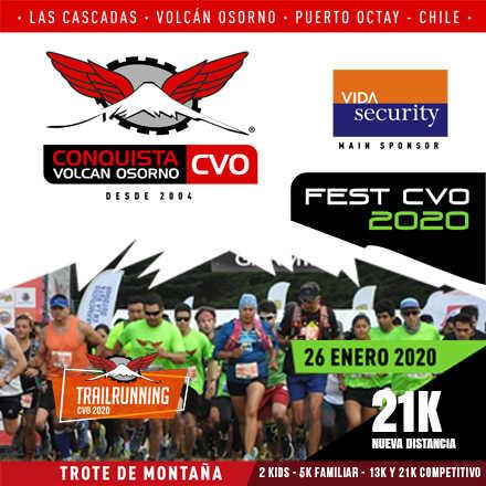TRAIL RUNNING CVO.  Es parte de CVO FEST en su 16a. Versión