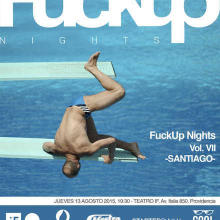 Fuckup Nights Santiago Vol. VII