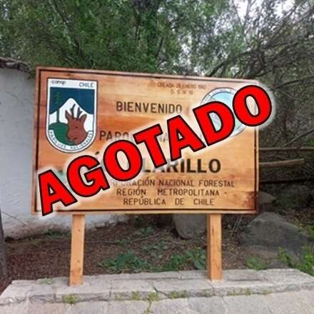 Reservas para el ingreso al Parque Nacional Río Clarillo Sábado 31 Julio