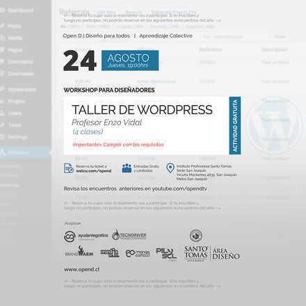 Workshop Wordpress Open D