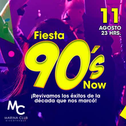 Fiesta 90's Now