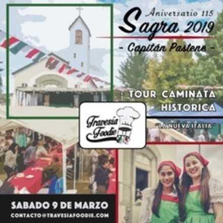 Tour Caminata Histórica Sagra - Capitán Pastene 2019