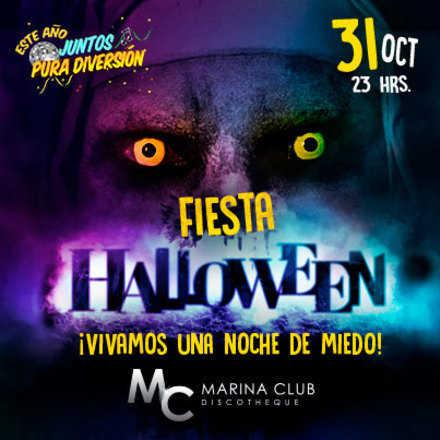 Fiesta Halloween 2016 en MC