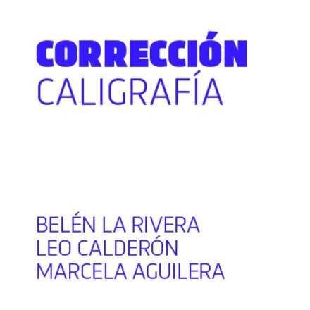 Corrección de caligrafía
