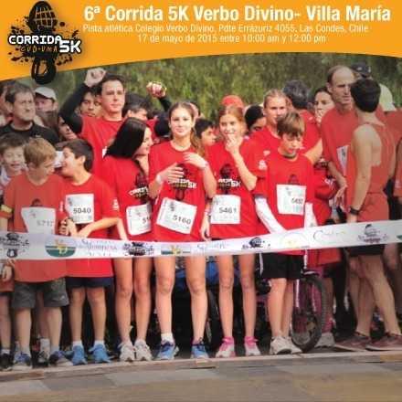 Corrida  5K Verbo Divino - Villa María