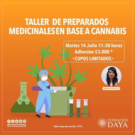 Taller de Preparados Medicinales en Base a Cannabis 14 julio