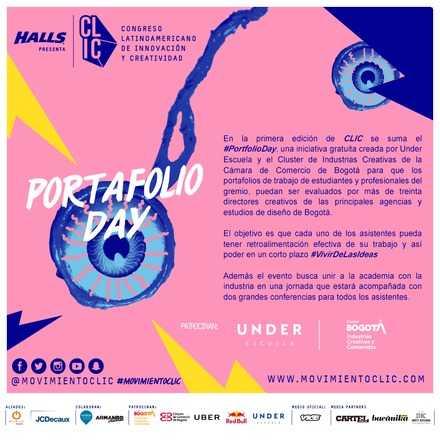 Portfolio Day - CLIC y Under Escuela (Evento Gratuito)