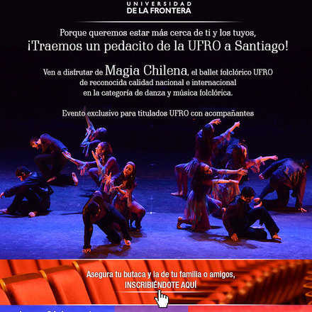 I Evento Exclusivo para Titulados UFRO [Santiago]