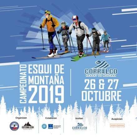 Clausura Campeonato Nacional Esqui de Montaña Corralco