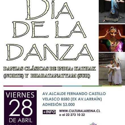 Celebración Dia de la Danza en Casona Nemesio Antúnez