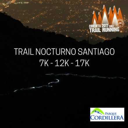 Trail Nocturno Santiago 2017