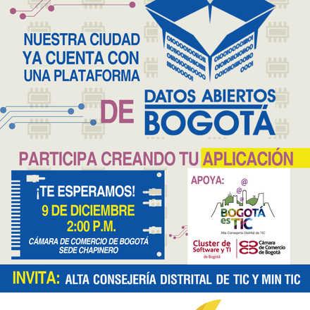 Concurso Desarrollo Datos Abiertos Bogotá