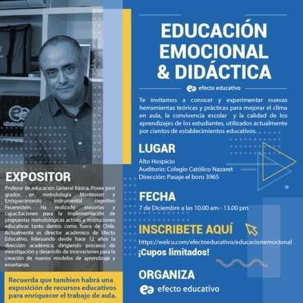 Workshop educación emocional y didáctica